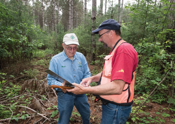 Cooperating Forester Program