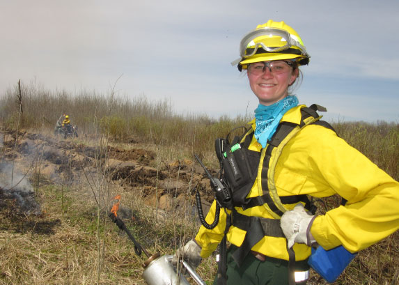Wildland firefighter employment