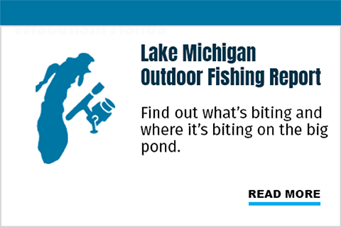 Lake Michigan: Find out what's and where it's biting on the big pond.