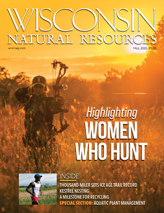 Cover of the fall 2020 Wisconsin Natural Resources magazine