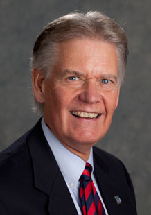 Portrait of Previous NRB chair, Terry Hilgenberg