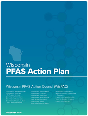 Cover of the Wisconsin PFAS Action Plan