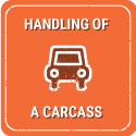 Moving or disposing of a carcass