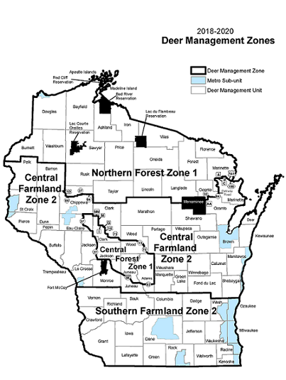 deer management zones