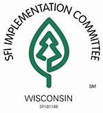 The Wisconsin Sustainable Forestry Initiative (SFI) Implementation Committee logo.